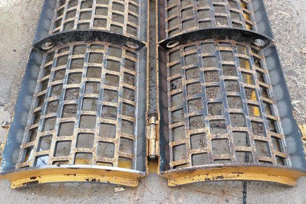 Reparatur Schredder-Korb aus Hardox